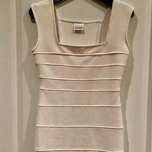 Moda International Perfect Little White Dress Sz 6